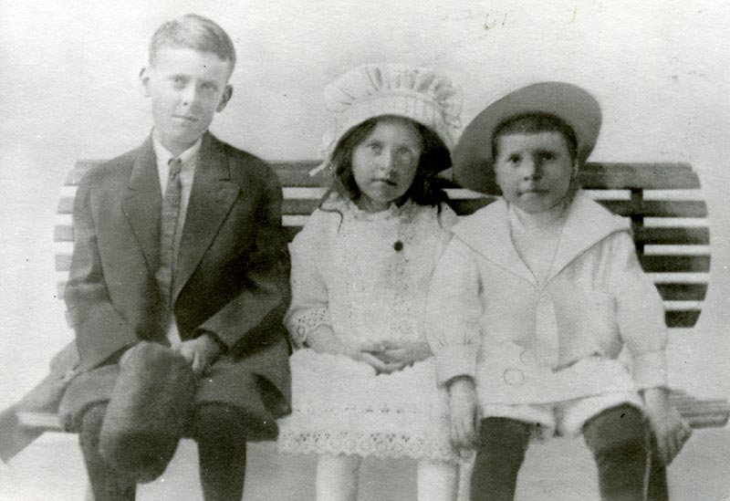 Harry, Mildred and George Schorn